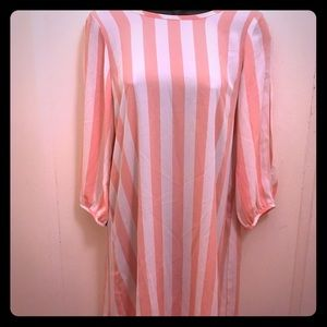 💕VDAY SALE💕AGACI Stripe Bow Back Shift Dress